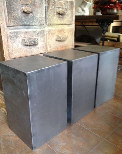 Cubos de acero