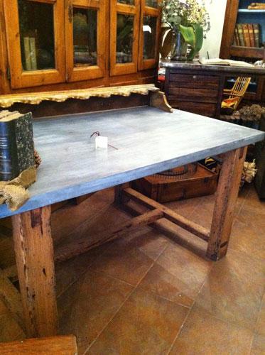 Mesa/madera de derribo/