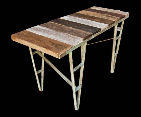 Mesa/madera de derribo