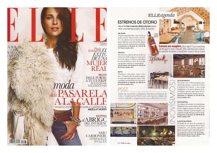Revista ELLE/ Octubre 2013