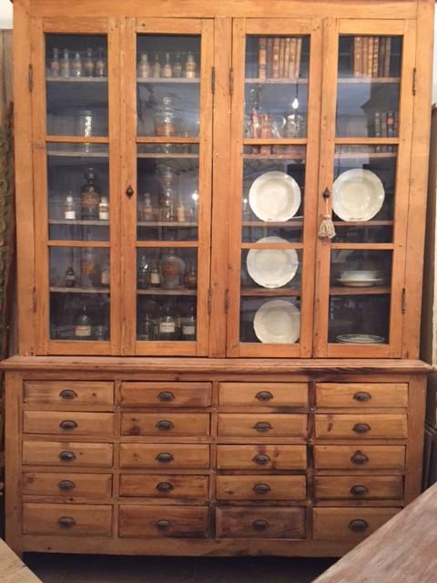 Mueble de farmacia Francia S.XIX